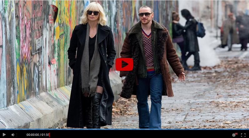 Atomic Blonde filmer online med svensk text gratis