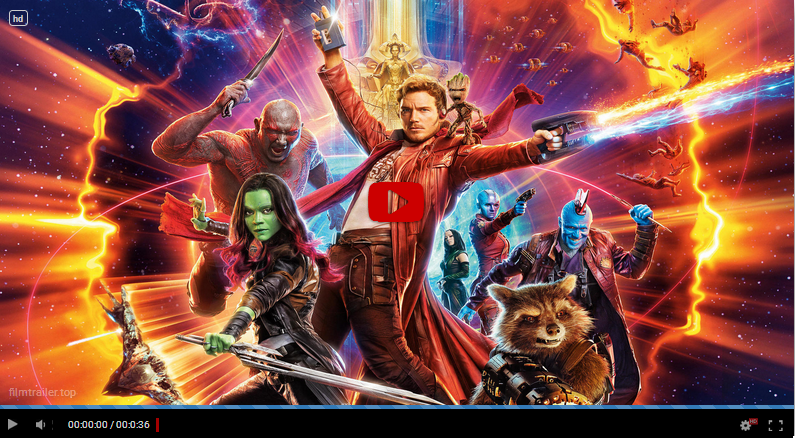Guardians of the Galaxy, vol. 2 svenska film med text