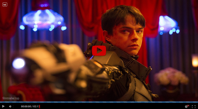 Valerian and the City of a Thousand Planets swefilmer